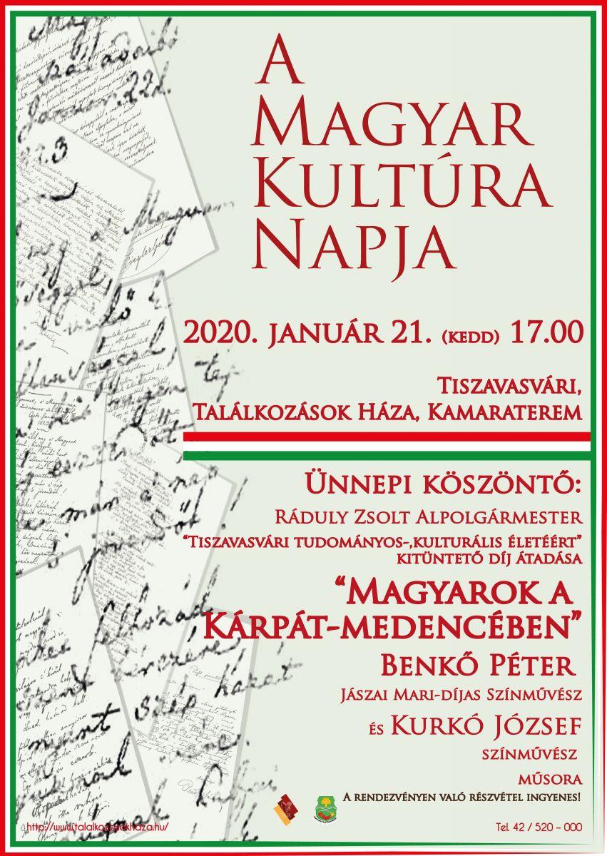 A Magyar Kultúra Napja 2020.