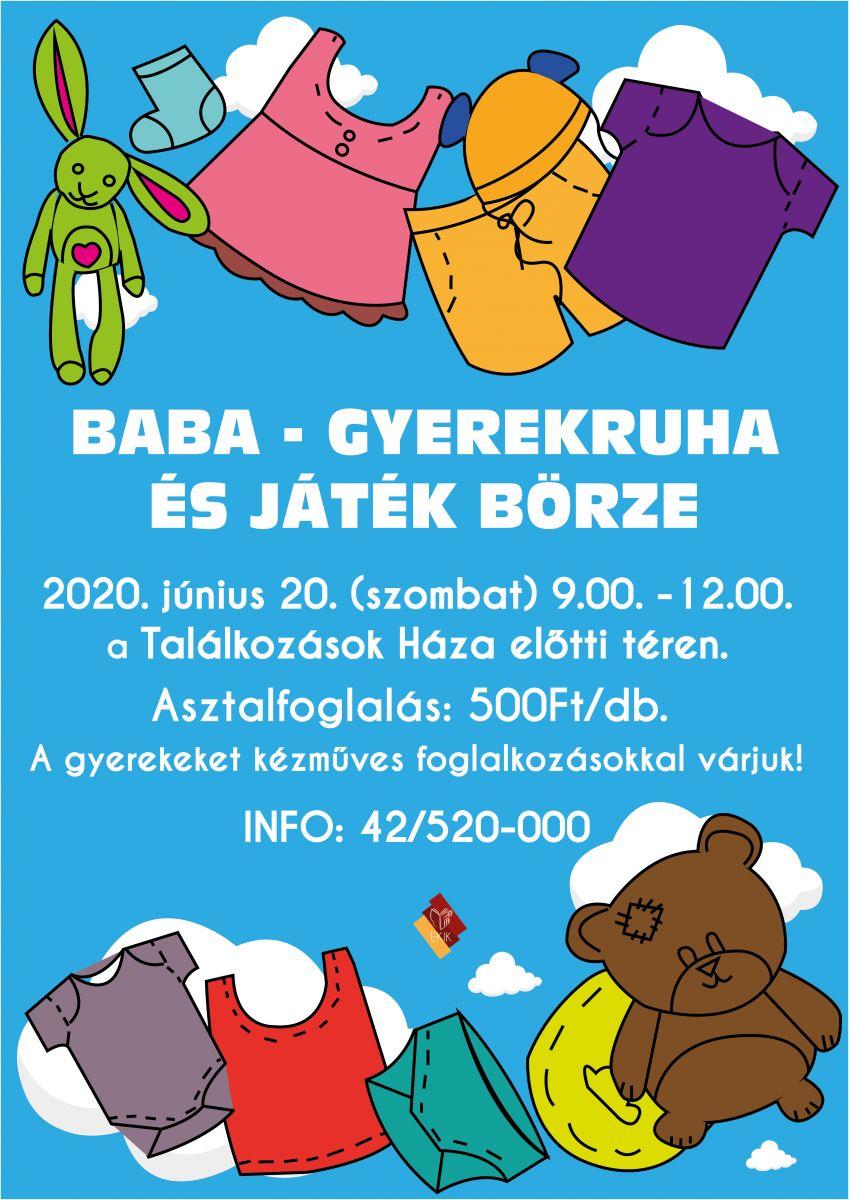 Baba - gyerekruha és játék börze
