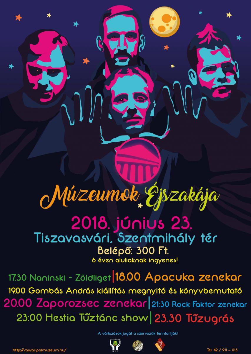 Múzeumok Éjszakája 2018.