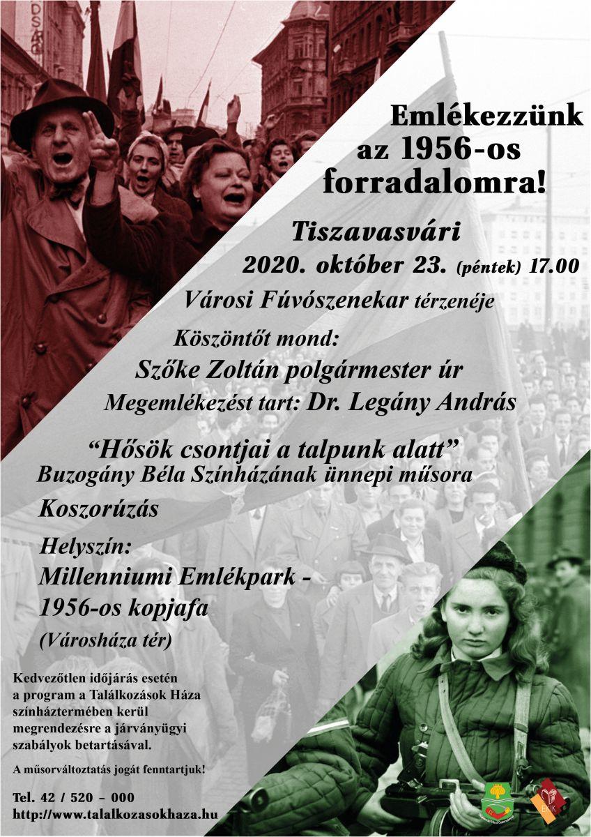 Emlékezzünk az 1956-os forradalomra!