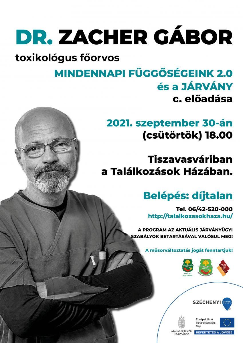 Dr. Zacher Gábor - Mindennapi Függőségeink 2.0 és a járvány c. előadása